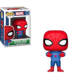 Funko Pop Vinyl - Marvel Holiday - Spider-Man w/Ugly Sweater