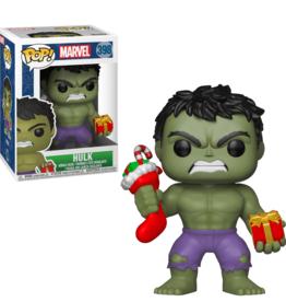 Funko Pop Vinyl - Marvel Holiday - Hulk w/Stocking & Plush