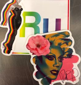 RuPaul Sticker Set