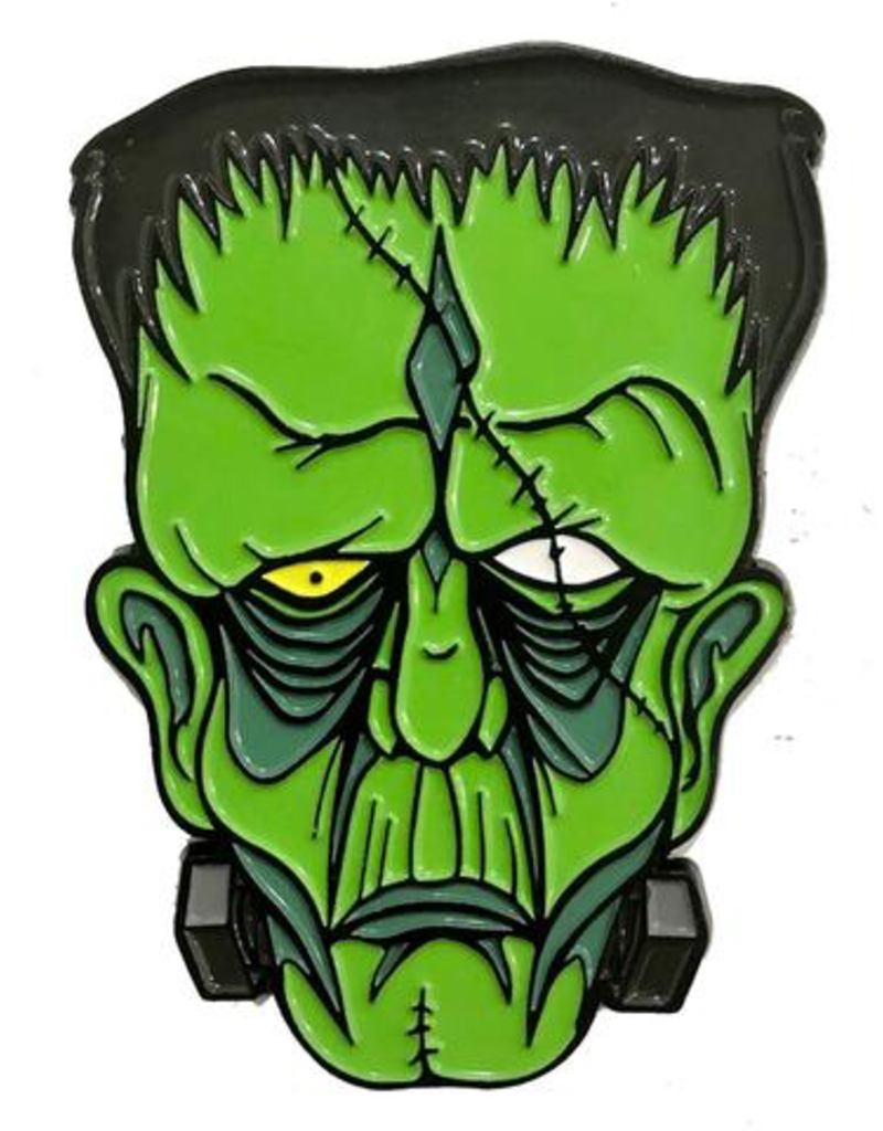 Graves Monster Frankenstein Enamel Pin