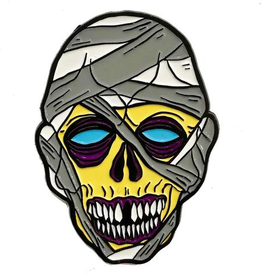 Graves Monster Mummy Enamel Pin