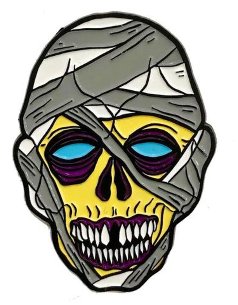 Graves Monster Mummy Enamel Pin