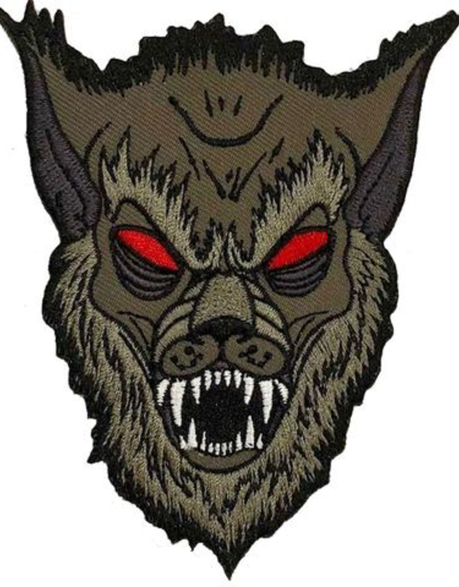 Graves Monster Grey Wolf Patch