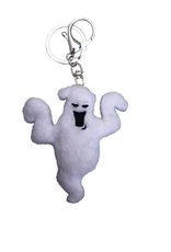 Boo Ghost Plush Keychain