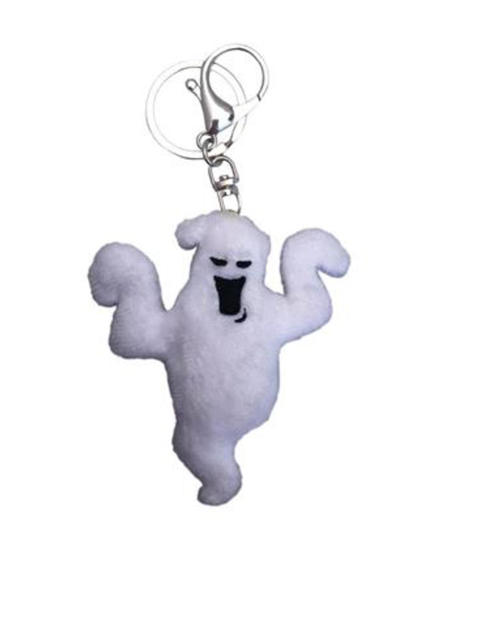Boo Ghost Plush Keychain