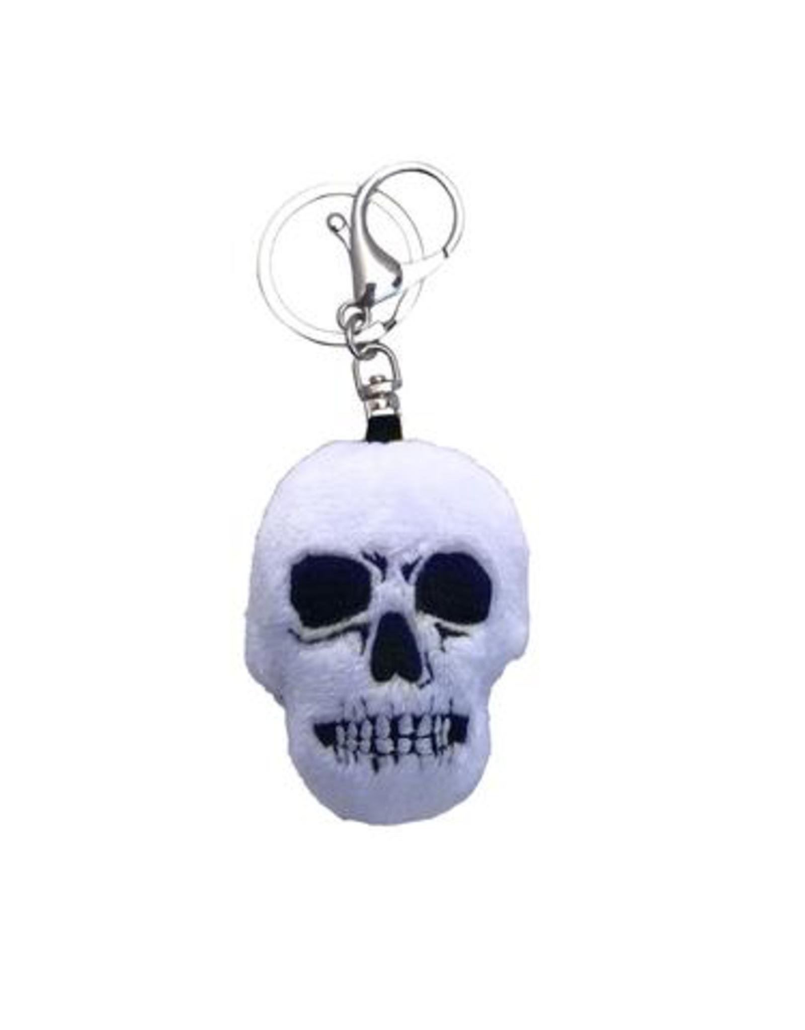 Skull Plush Keychain