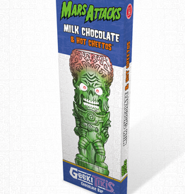 Geeki Tikis Mars Attacks - Milk Chocolate & Hot Cheetos