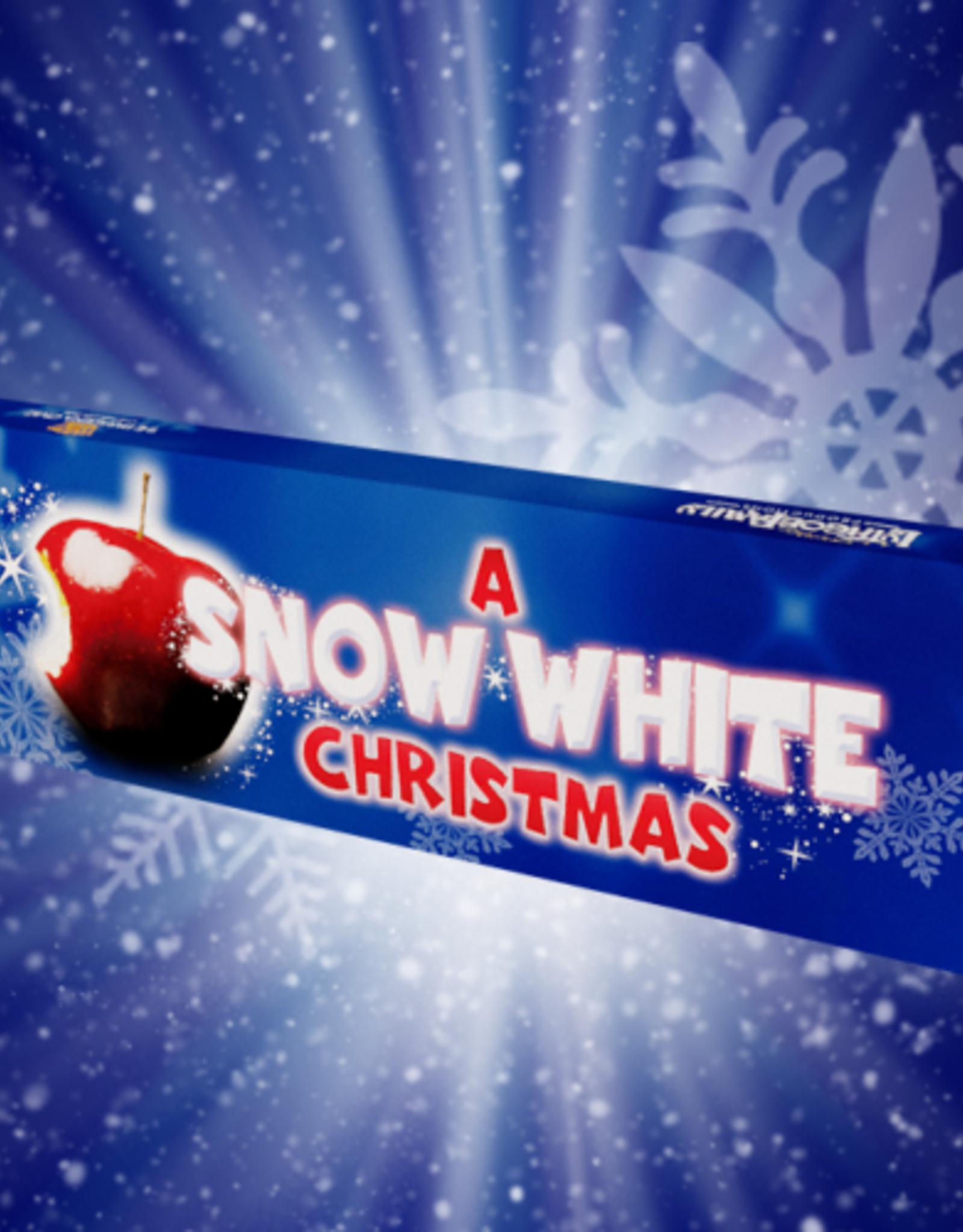 A Snow White Christmas Chocolate Bar