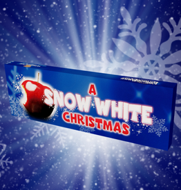 A Snow White Christmas Chocolate Bar