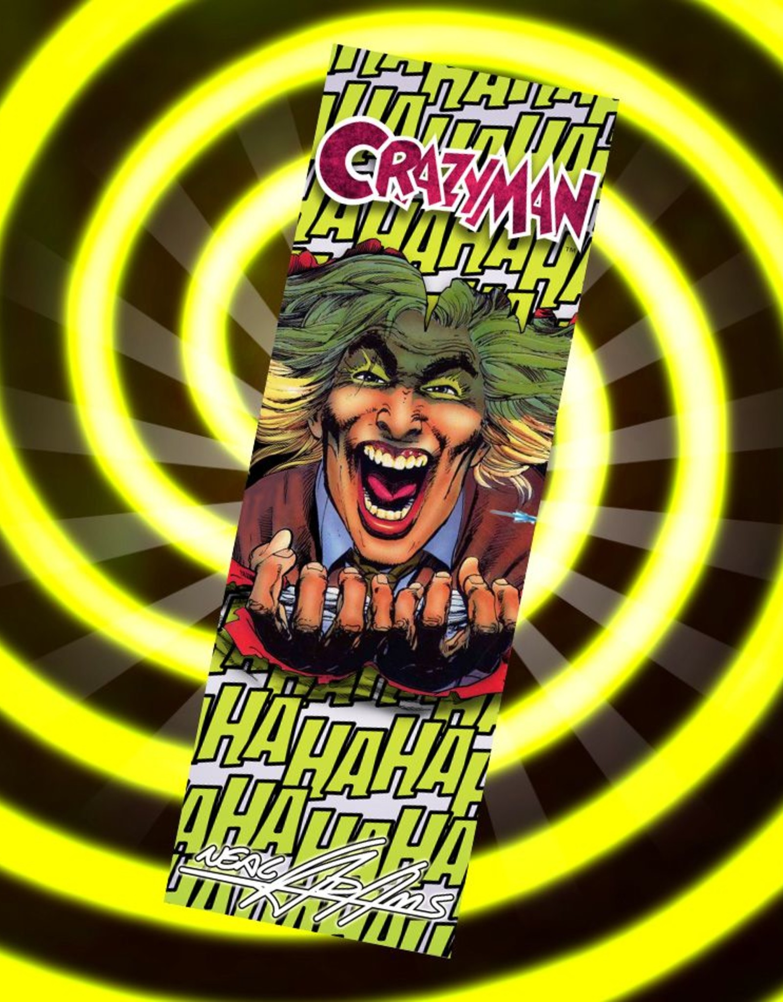 Neal Adams Bar - Crazyman