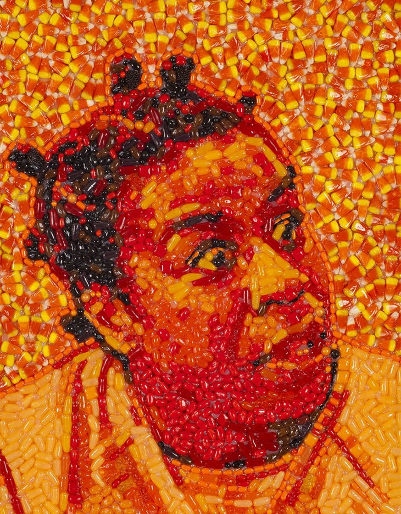 Candylebrity Artwork (18x24) - Crazy Eyes