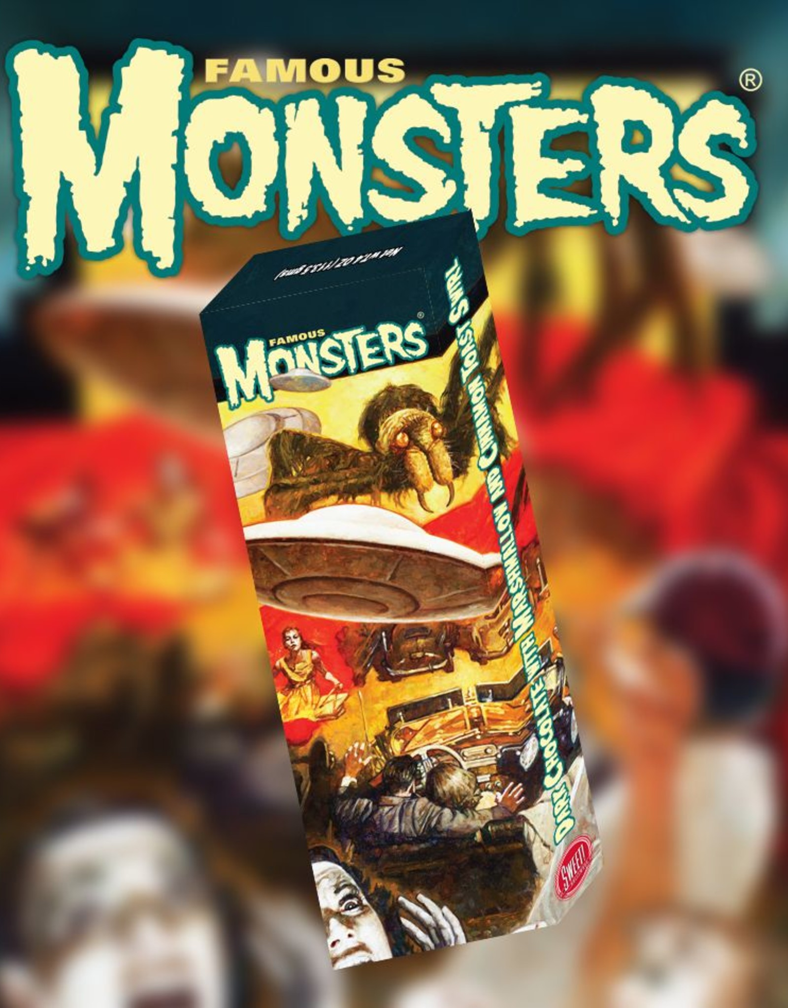 Famous Monsters Bar - Spider & Aliens