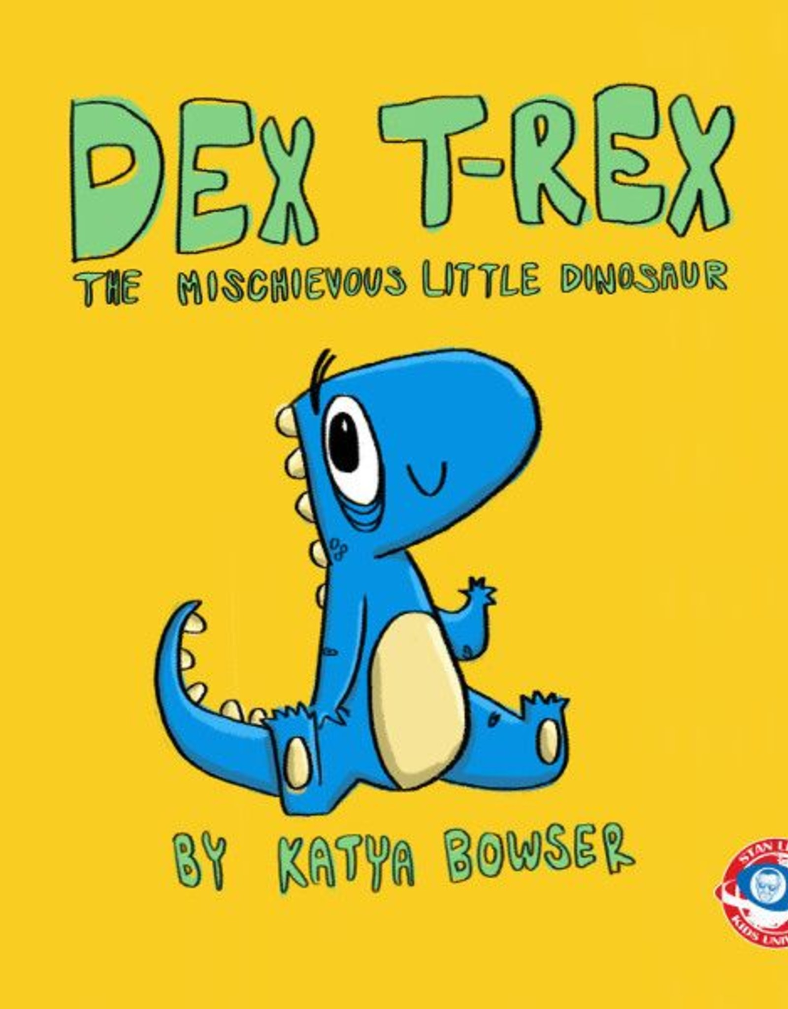 Stan Lee's Kids Universe: Dex T-Rex Hard Cover