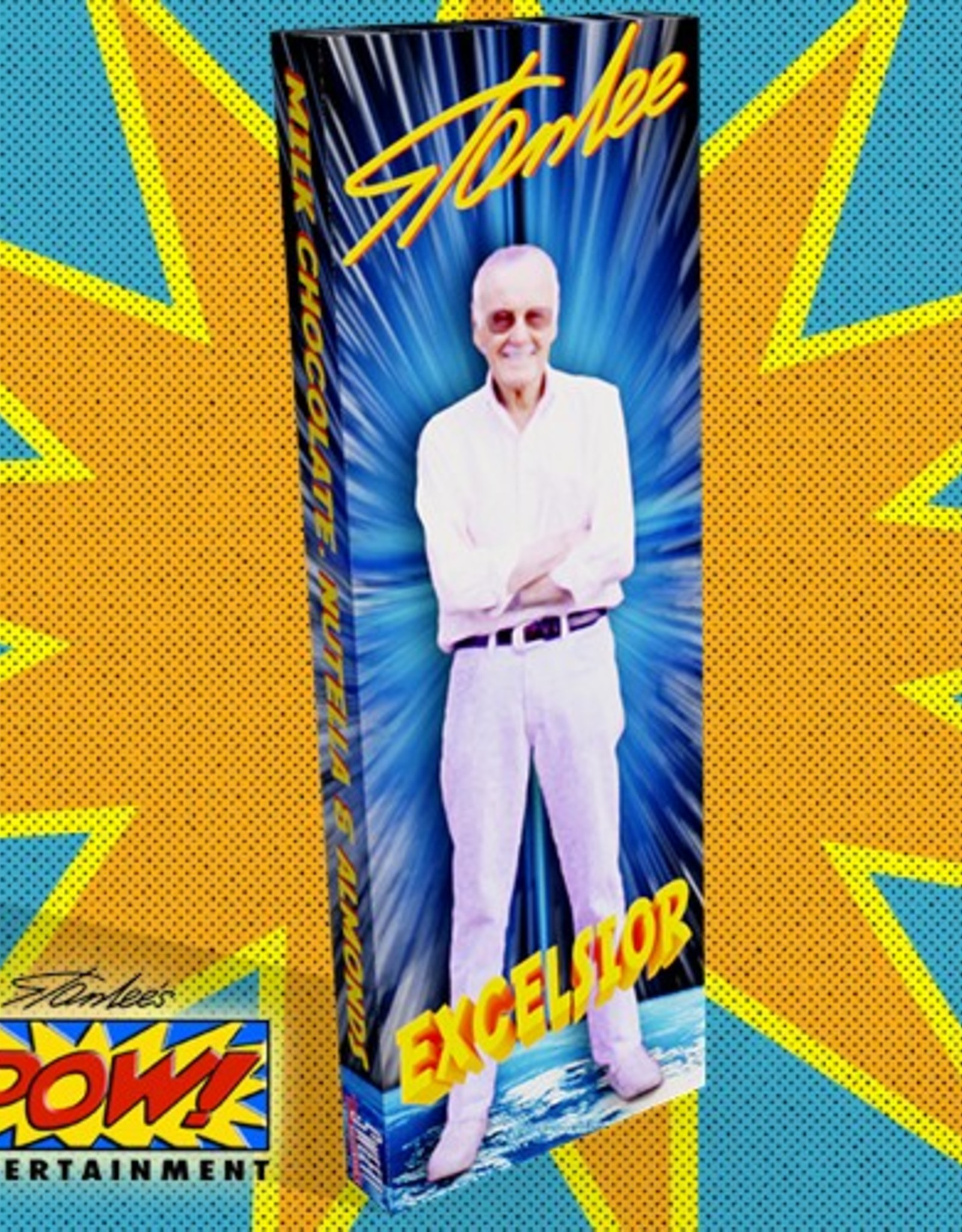 Stan Lee - Milk Chocolate Bar