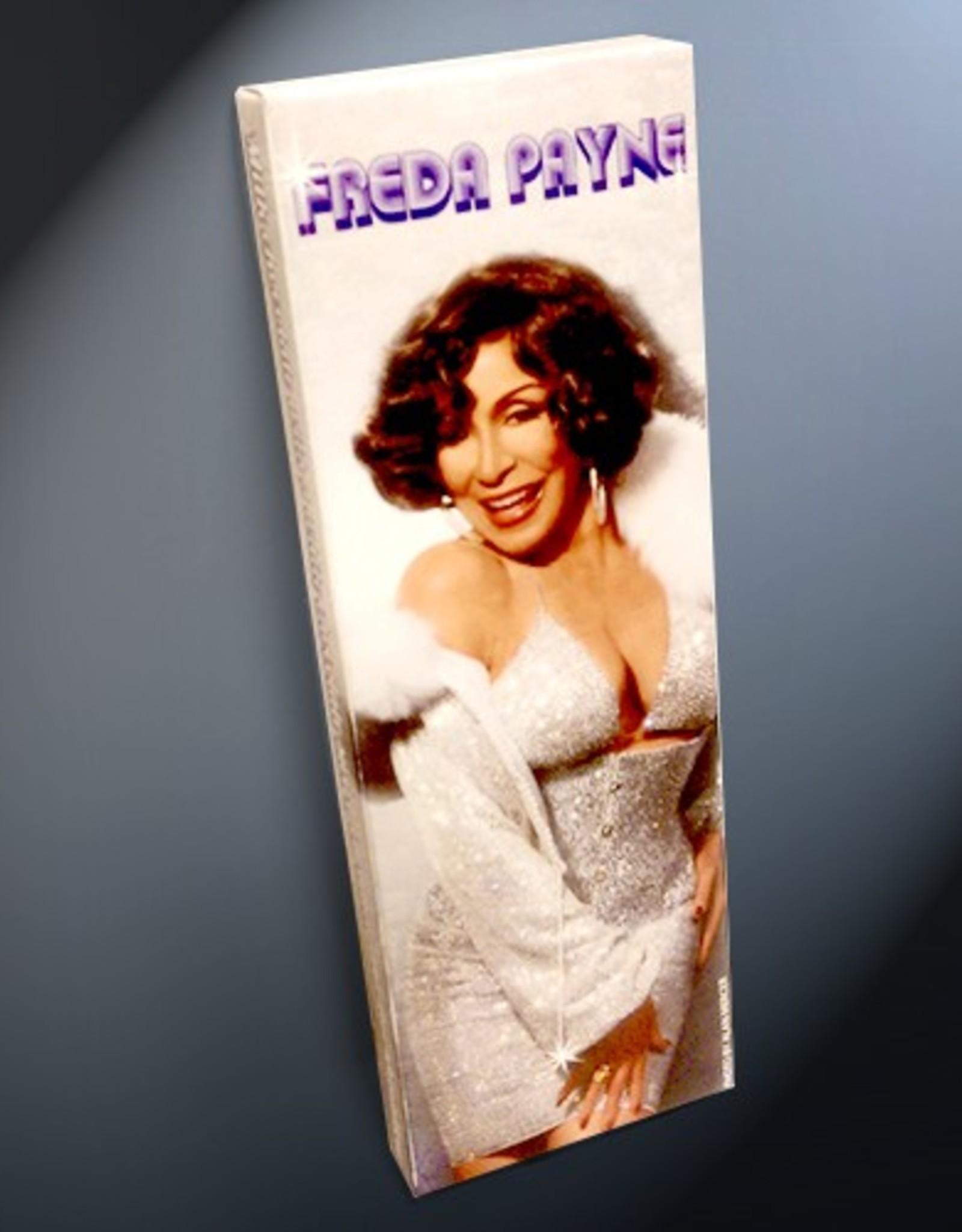 Freda Payne Milk Chocolate Swirl Bar
