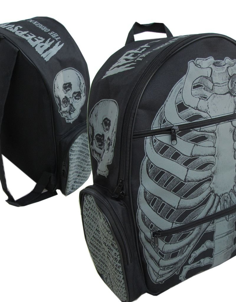 Charcoal Ribcage Back Pack *DS