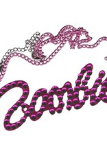 Pink Diamonte Zombie Necklace