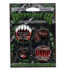 Vamp Badge Set