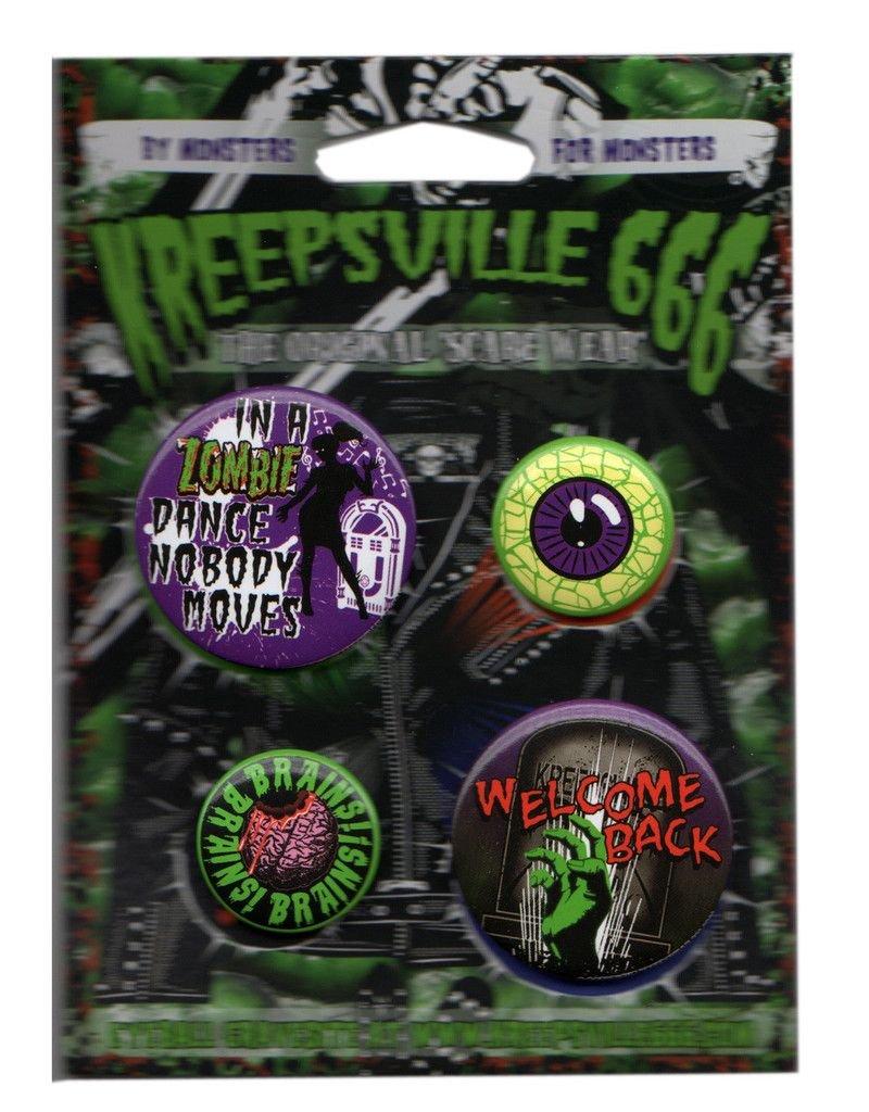 Zombie Badge Set