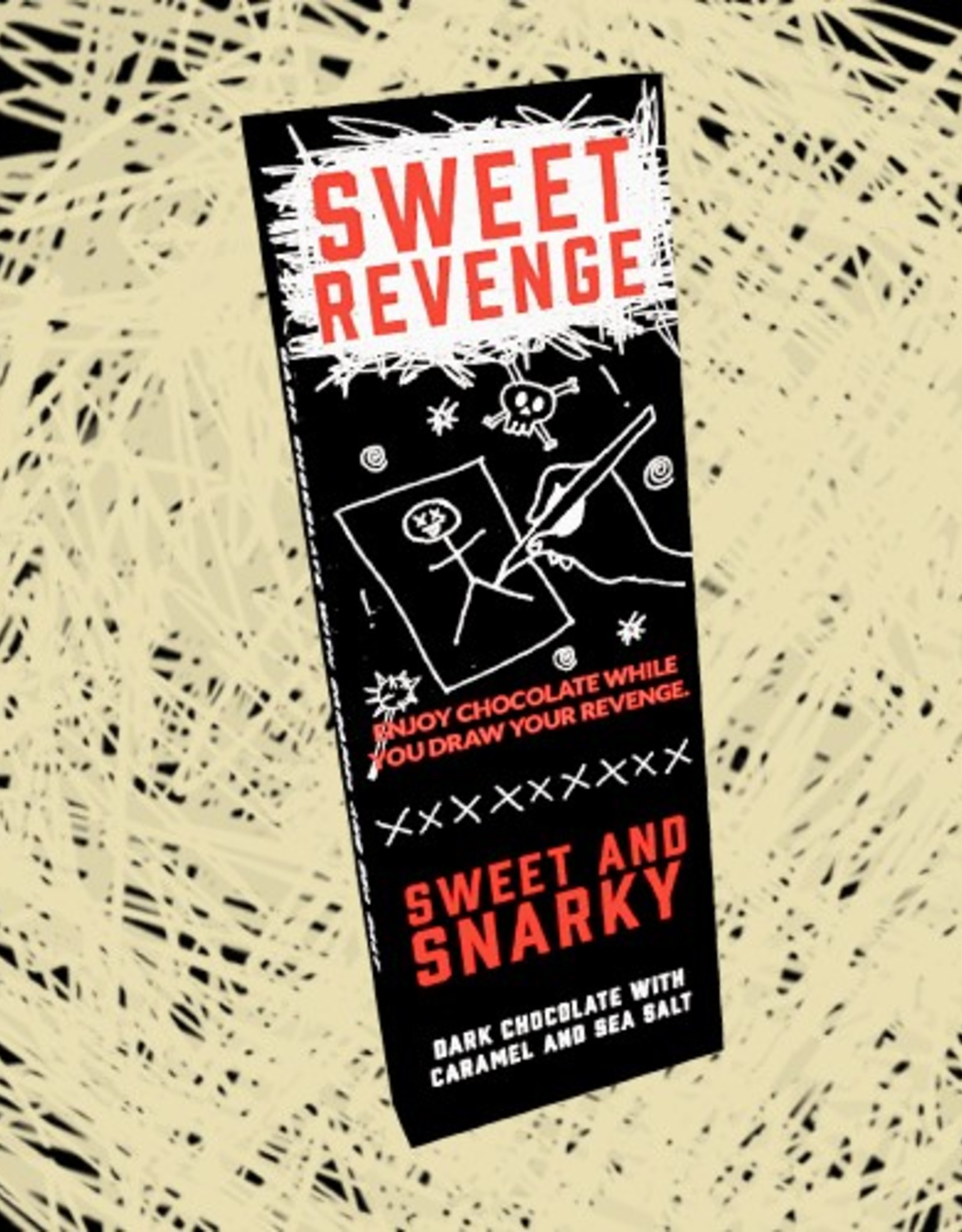 Draw With A Vengeance - Sweet & Snarky Bar