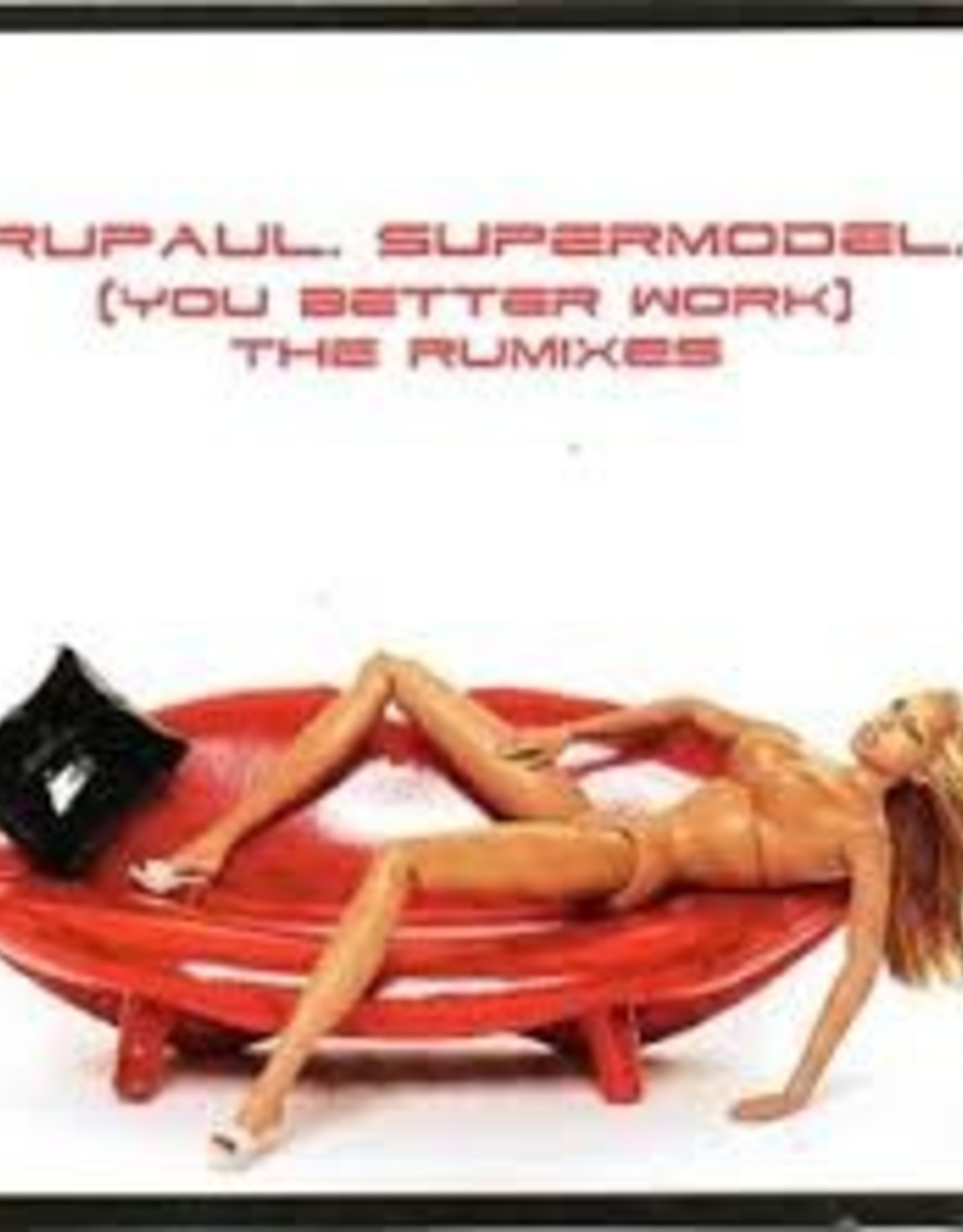 RuPaul Supermodel The Rumixes CD