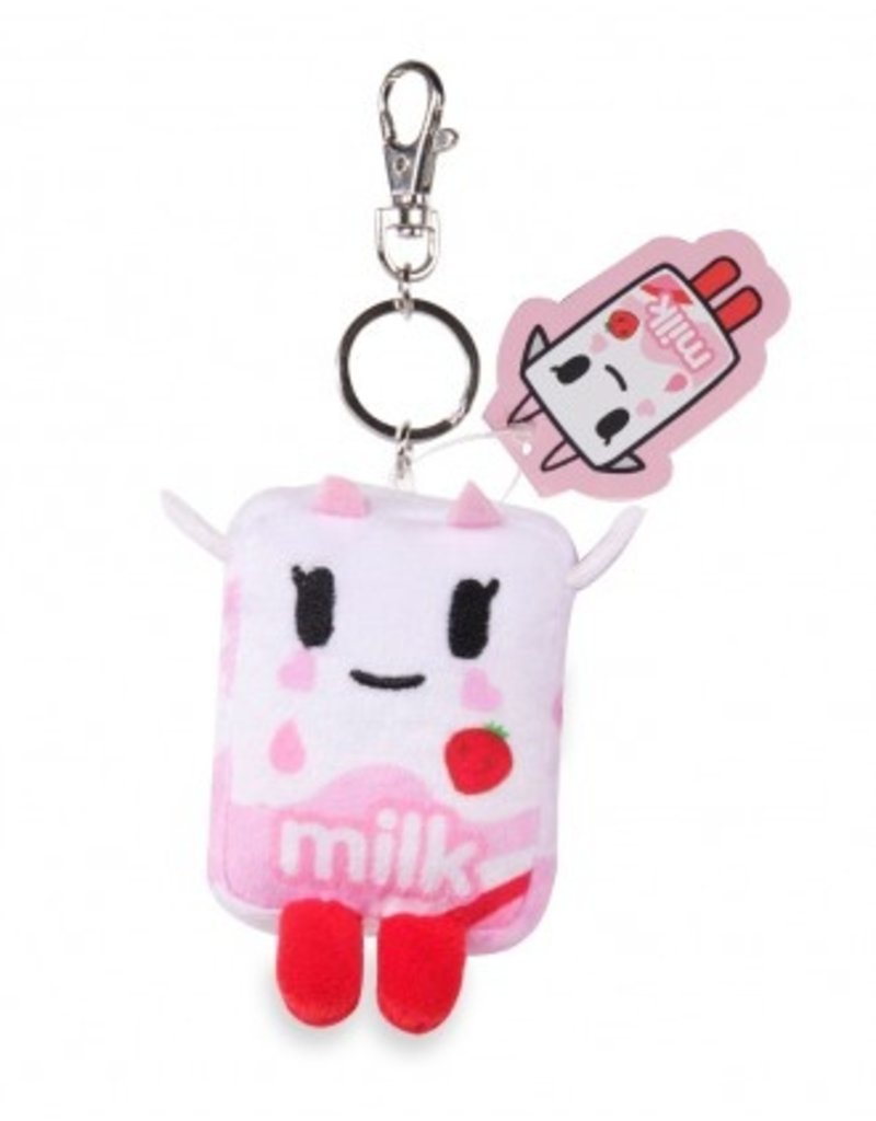 tokidoki - Strawberry Milk Plush Keychain