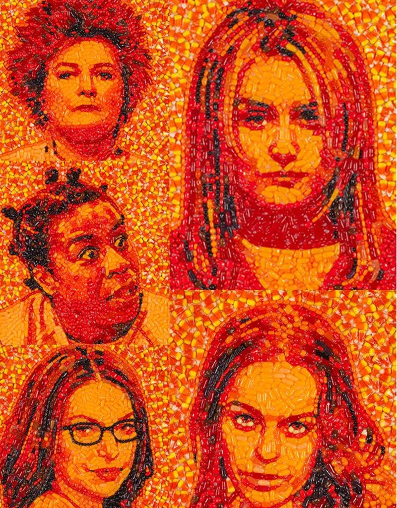 Candylebrity Artwork Set (5pc) - Orange is the New Black