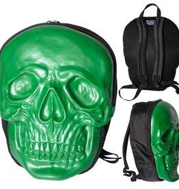 Skull Backpack - Green