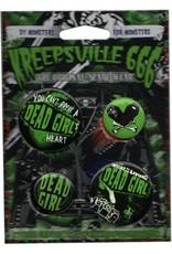 Dead Girl Badge Set *DS