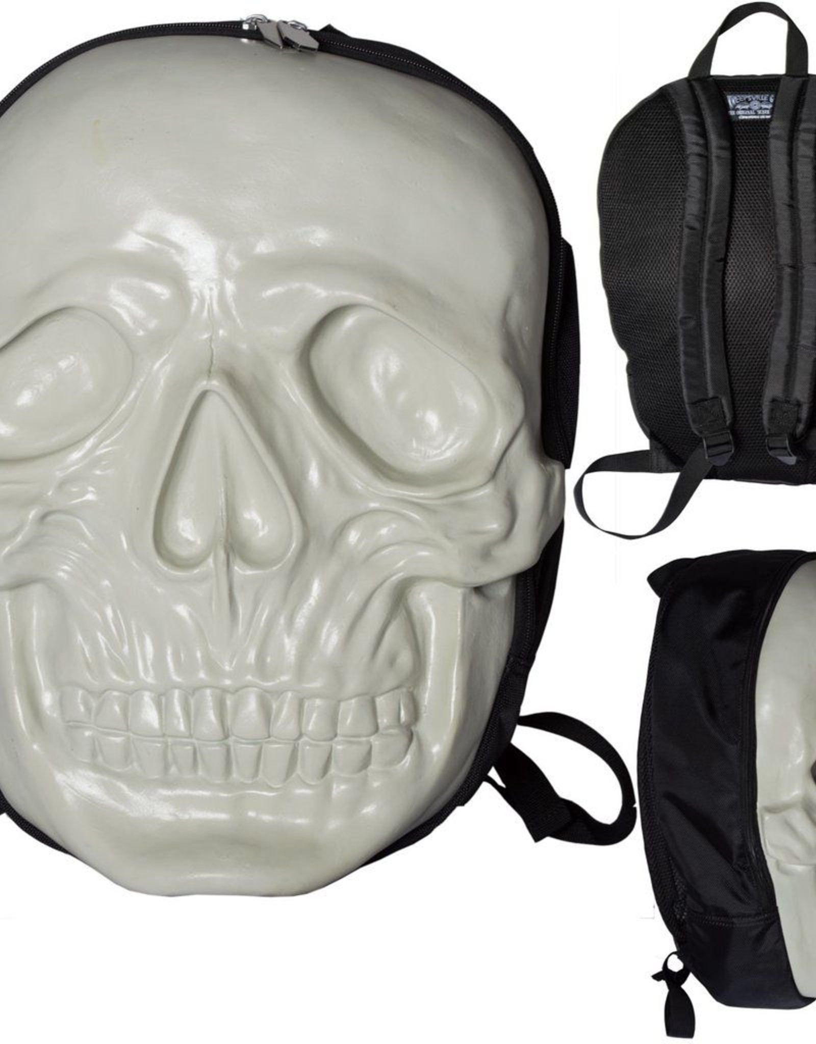 Skull Backpack - Natural Glow