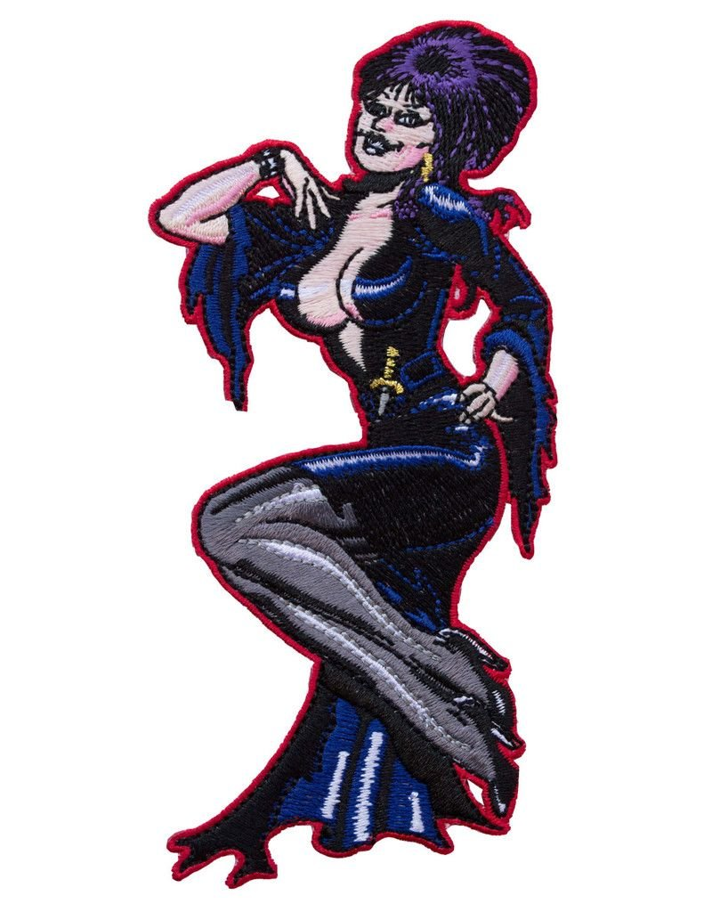 Elvira Comic Art Patch *DS