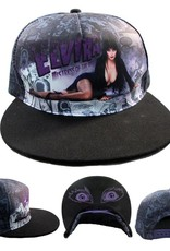 Elvira Comic Strip Baseball Hat