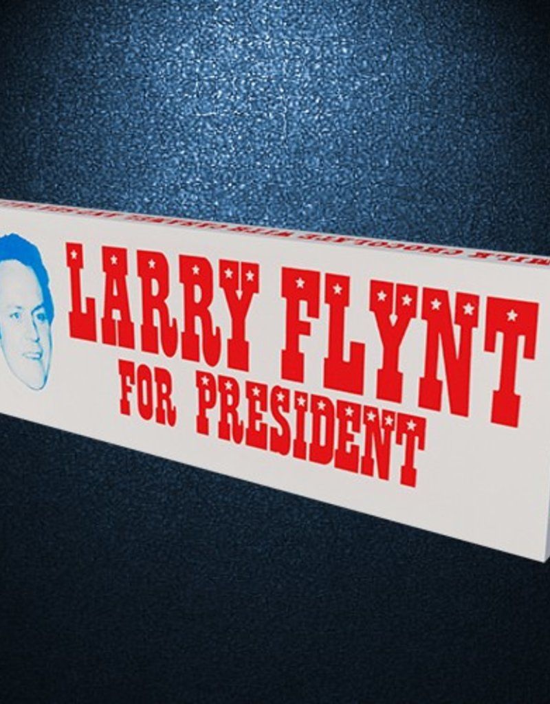 Hustler Larry Flynt For President Bar