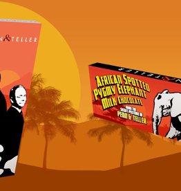 Penn & Teller African Spotted Pygmy Elephant Bar