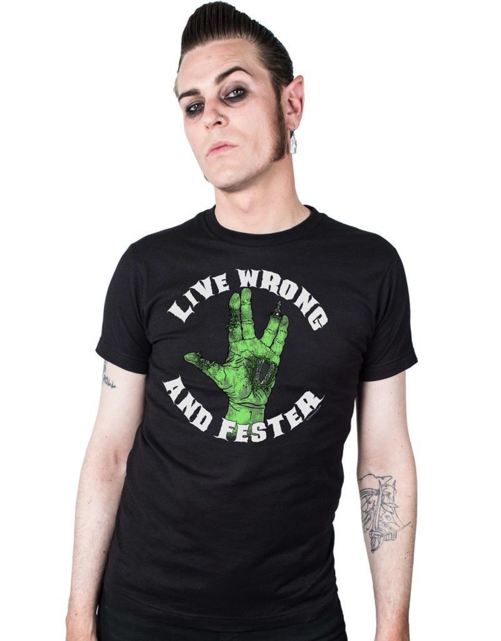 Live Wrong Fester T-Shirt
