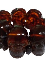 Skull Collection Bracelet - Amber