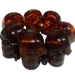 Skull Collection Bracelet - Amber