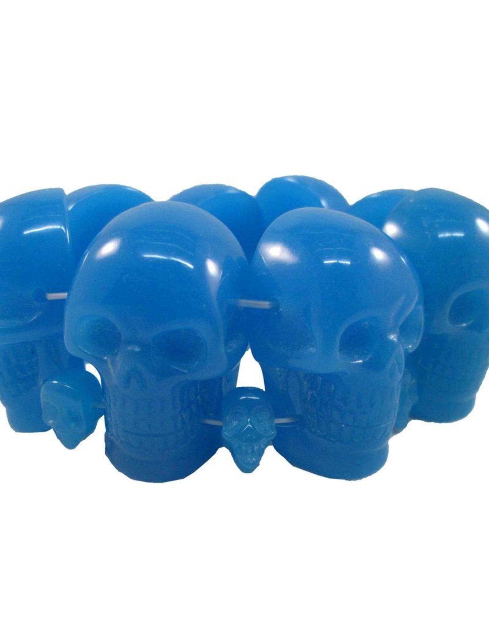 Skull Collection Bracelet - Blue Glow