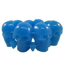 Skull Collection Bracelet - Blue Glow