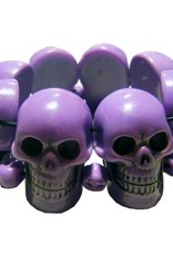 Skull Collection Bracelet - Purple