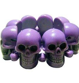 Skull Collection Bracelet - Purple