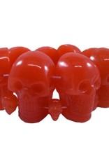 Skull Collection Bracelet - Red