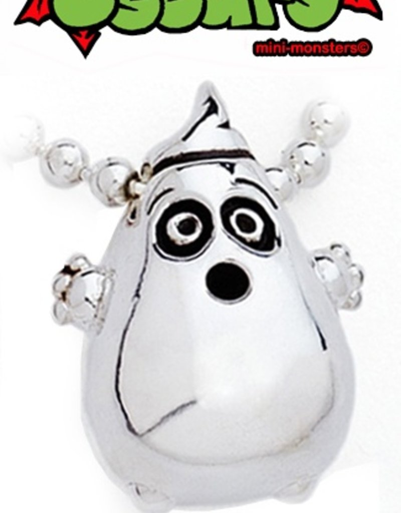 Oscar Ayotzintli - Marshall the Scaredy Ghost Necklace