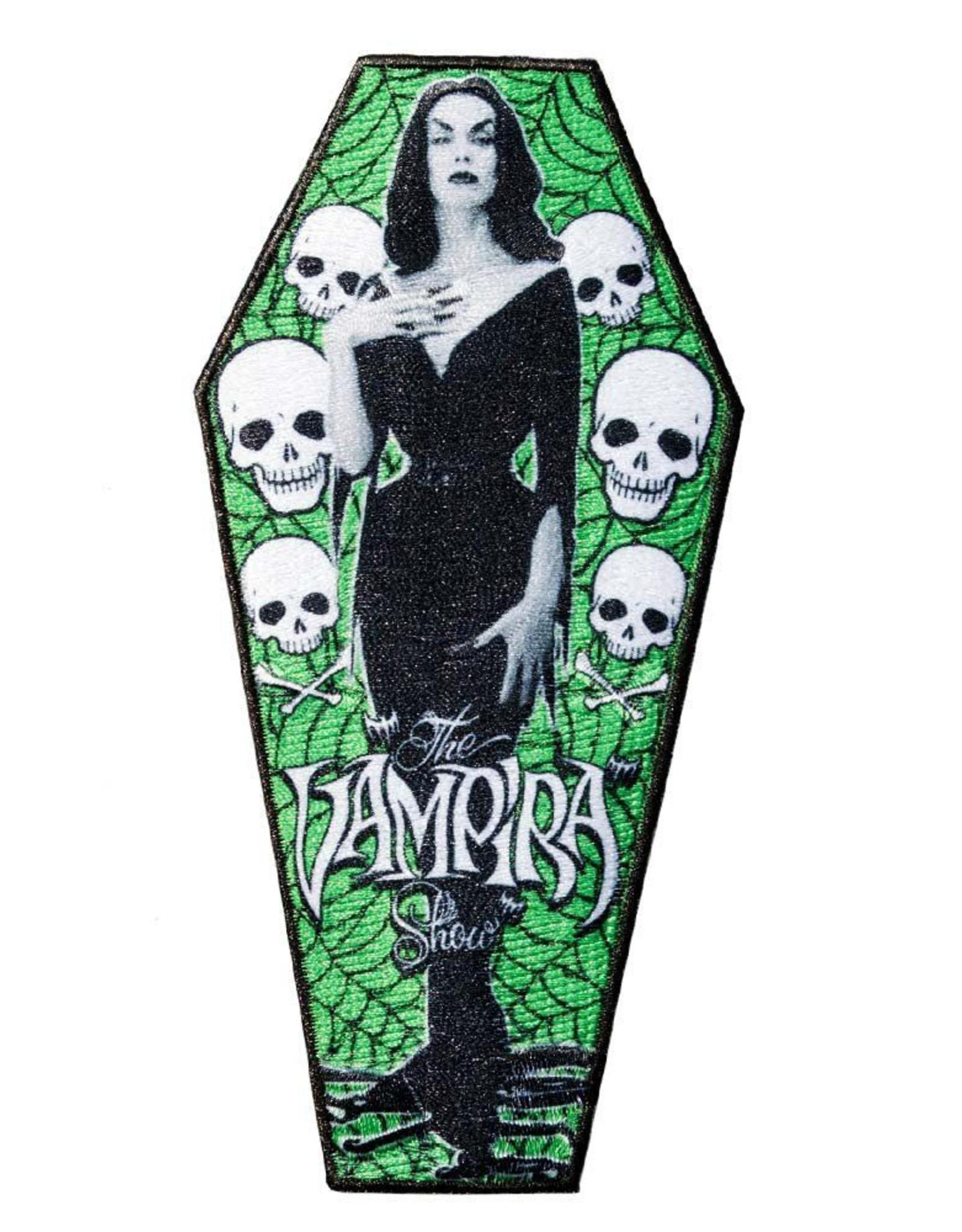 Vampira Coffin Patch