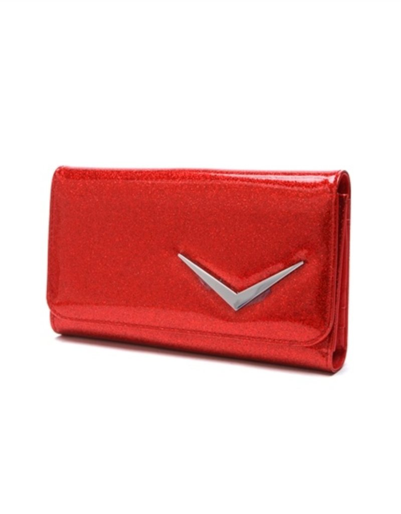 Getaway Wallet - Red Sparkle
