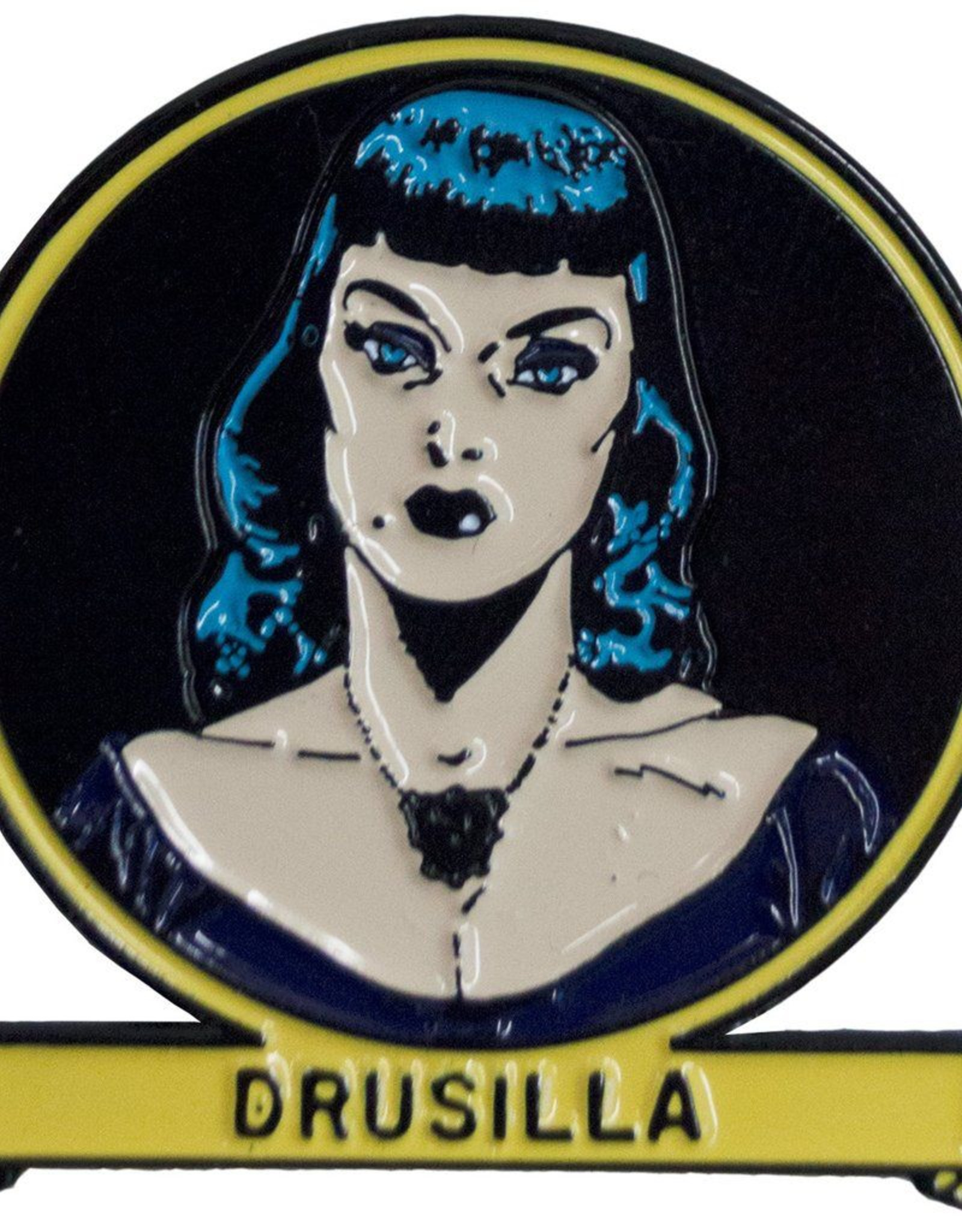 Tales From the Crypt Drusilla Enamel Pin