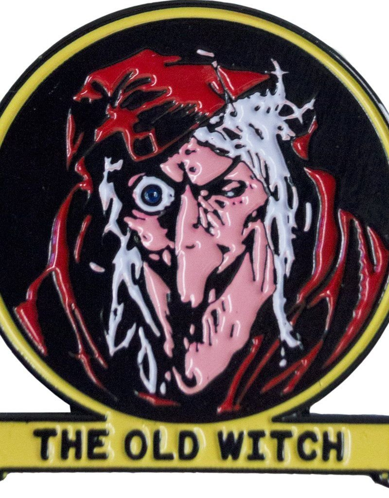 Tales From the Crypt Old Witch Enamel Pin