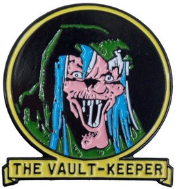 Tales From the Crypt Vault Keeper Enamel Pin