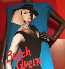 RuPaul Butch Queen Tee - Cyan
