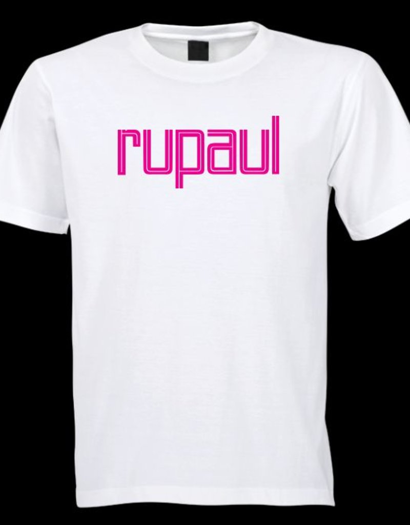 RuPaul Magenta Logo Tee